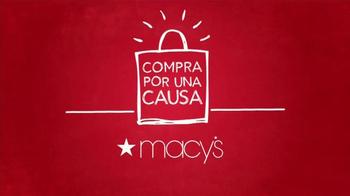 Macy's TV Spot, 'Compra por una causa: March of Dimes' [Spanish] - Thumbnail 4