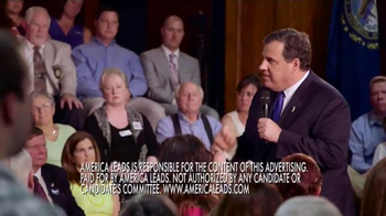 America Leads TV Spot, 'Prevent War' Featuring Chris Christie - Thumbnail 9