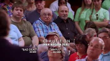 America Leads TV Spot, 'Prevent War' Featuring Chris Christie - Thumbnail 4
