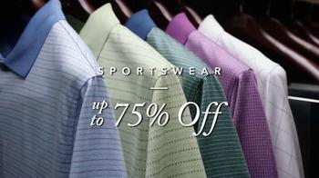 JoS. A. Bank Super Saturday TV Spot, 'Sportswear' - Thumbnail 2