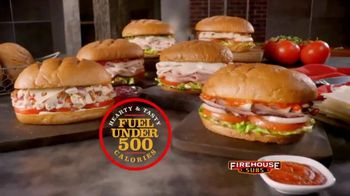 Firehouse Subs Under 500 Calories Menu TV Spot, 'Hearty and Flavorful Menu'