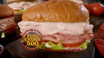 Firehouse Subs Under 500 Calories Menu TV Spot, 'Hearty and Flavorful Menu' - Thumbnail 7
