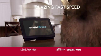Frontier FiOS + Amazon Prime TV Spot, 'Blazing Fast' - Thumbnail 4