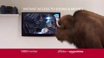Frontier FiOS + Amazon Prime TV Spot, 'Blazing Fast' - Thumbnail 5