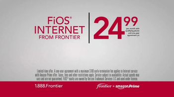 Frontier FiOS + Amazon Prime TV Spot, 'Blazing Fast' - Thumbnail 6