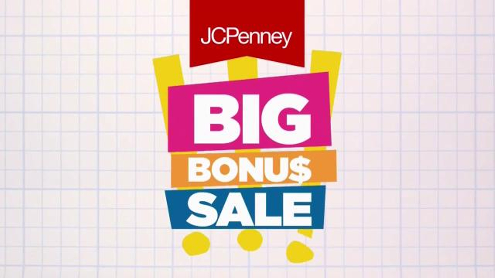 JCPenney Big Bonus Sale TV Commercial, 'Doorbusters Galore'