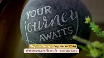 Joyce Meyer Ministries 2015 Love Life Women's Conference TV Spot, 'Power' - Thumbnail 1