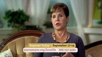 Joyce Meyer Ministries 2015 Love Life Women's Conference TV Spot, 'Power' - Thumbnail 3