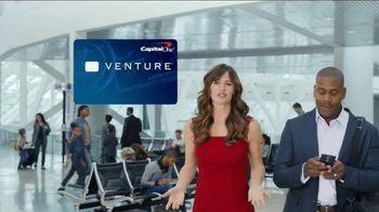 Capital One Venture Card TV Spot, 'Ticked Off Traveler' Ft. Jennifer Garner - Thumbnail 5