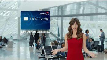 Capital One Venture Card TV Spot, 'Ticked Off Traveler' Ft. Jennifer Garner - Thumbnail 6