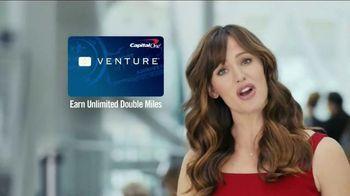 Capital One Venture Card TV Spot, 'Ticked Off Traveler' Ft. Jennifer Garner - Thumbnail 7