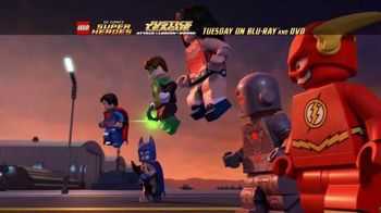 LEGO Justice League: Attack of the Legion of Doom Blu-ray and DVD TV Spot