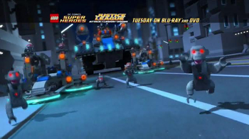 LEGO Justice League: Attack of the Legion of Doom Blu-ray and DVD TV Spot - Thumbnail 4