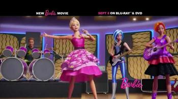 Barbie Rock 'N Royals Blu-Ray and DVD TV Spot - Thumbnail 1