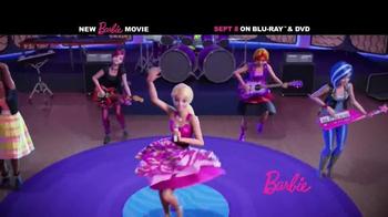 Barbie Rock 'N Royals Blu-Ray and DVD TV Spot - Thumbnail 2