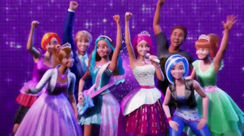 Barbie Rock \'N Royals Blu-Ray and DVD TV Spot