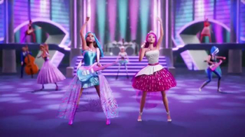 Barbie Rock 'N Royals TV Spot, 'Dolls and Movie' - Thumbnail 4