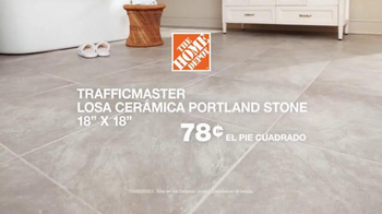 The Home Depot TV Spot, 'Adornar con losa cerámica' [Spanish] - Thumbnail 8