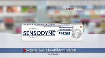 Sensodyne Repair & Protect Whitening TV Spot, 'Medifacts: Sensitivity' - Thumbnail 4