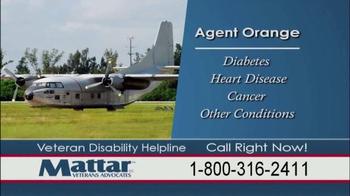 Mattar Veteran Advocates TV Spot, 'Agent Orange' - Thumbnail 4