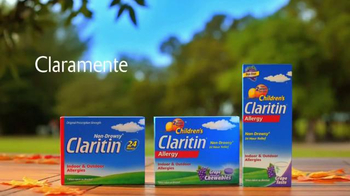 Claritin 24-Hour Allergy Relief TV Spot, 'Alergias estacionales' [Spanish] - Thumbnail 8