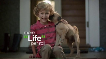 Bounty TV Spot, 'More Dog Life Per Roll' - Thumbnail 7