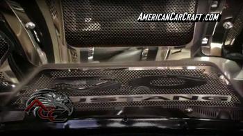American Car Craft TV Spot, 'Unique Product Design Concepts' - Thumbnail 4