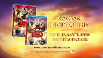 Thomas & Friends: Sodor's Legend of the Lost Treasure Blu-ray TV Spot - Thumbnail 5