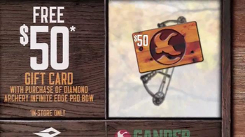 Gander Mountain TV Spot, 'Gift Card, Tree-stand and Trail Cam' - Thumbnail 3