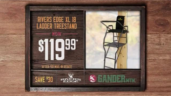 Gander Mountain TV Spot, 'Gift Card, Tree-stand and Trail Cam' - Thumbnail 5