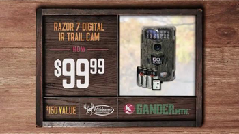 Gander Mountain TV Spot, 'Gift Card, Tree-stand and Trail Cam' - Thumbnail 6
