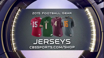 CBSSports.com/Shop TV Spot, 'College and Pro Football Gear'