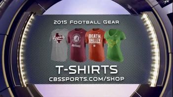CBSSports.com/Shop TV Spot, 'College and Pro Football Gear' - Thumbnail 3