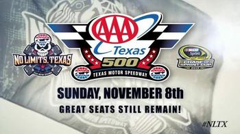 Texas Motor Speedway TV Spot, 'AAA Texas 500' - Thumbnail 9