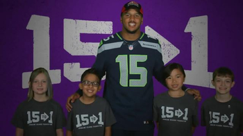 Papa John's TV Spot, 'Jermaine Kearse Foundation' Featuring Jermain Kearse - 72 commercial airings