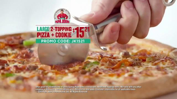 Papa John's TV Spot, 'Jermaine Kearse Foundation' Featuring Jermain Kearse - Thumbnail 6