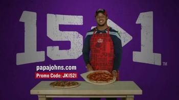 Papa John's TV Spot, 'Jermaine Kearse Foundation' Featuring Jermain Kearse - Thumbnail 7