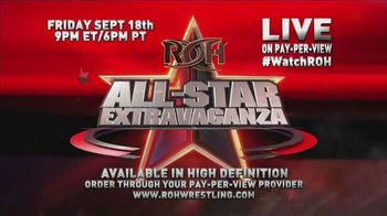 ROH Wrestling TV Spot, '2015 All-Star Extravaganza' - 10 commercial airings