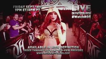 ROH Wrestling TV Spot, '2015 All-Star Extravaganza' - Thumbnail 4
