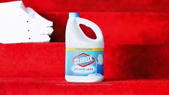Clorox Splash-Less Bleach TV Spot, 'Red Carpet Clean' - Thumbnail 8