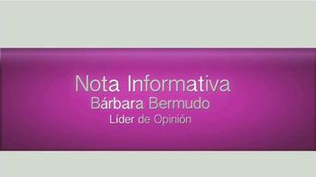 Cicatricure Crema TV Spot, 'Nota informativa' con Bárbara Bermudo [Spanish] - Thumbnail 1
