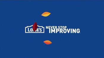 Lowe's Labor Day Savings TV Spot, 'Major Appliances' - Thumbnail 6