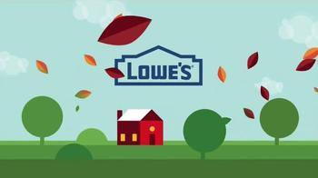 Lowe's Labor Day Savings TV Spot, 'Major Appliances' - Thumbnail 1