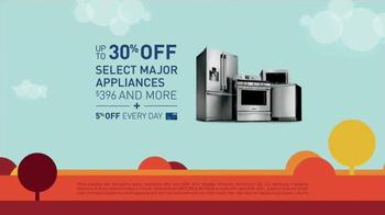 Lowe's Labor Day Savings TV Spot, 'Major Appliances' - Thumbnail 3