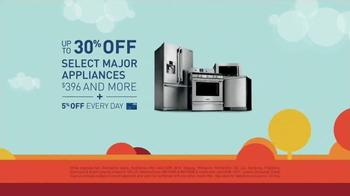 Lowe's Labor Day Savings TV Spot, 'Major Appliances' - Thumbnail 4