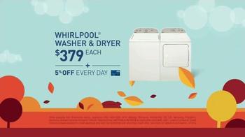 Lowe's Labor Day Savings TV Spot, 'Major Appliances' - Thumbnail 5