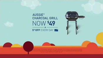 Lowe's Labor Day Savings TV Spot, 'Grill and Charcoal' - Thumbnail 4
