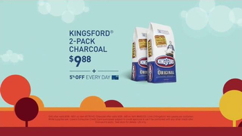 Lowe's Labor Day Savings TV Spot, 'Grill and Charcoal' - Thumbnail 5