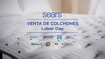 Sears Venta de Colchones de Labor Day TV Spot, 'Dulces sueños' [Spanish] - Thumbnail 1