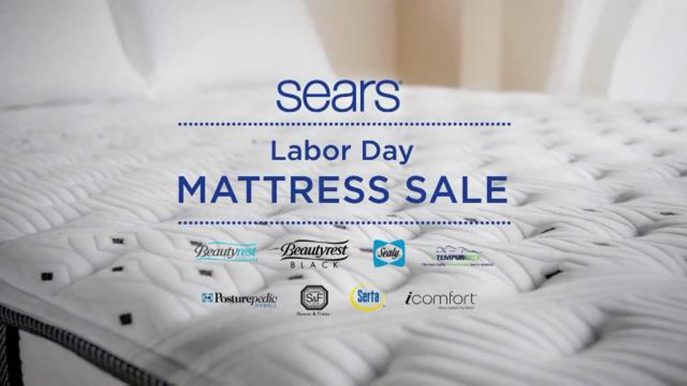 Sears Labor Day Mattress Sale Tv Commercial Top Brand Savings Video